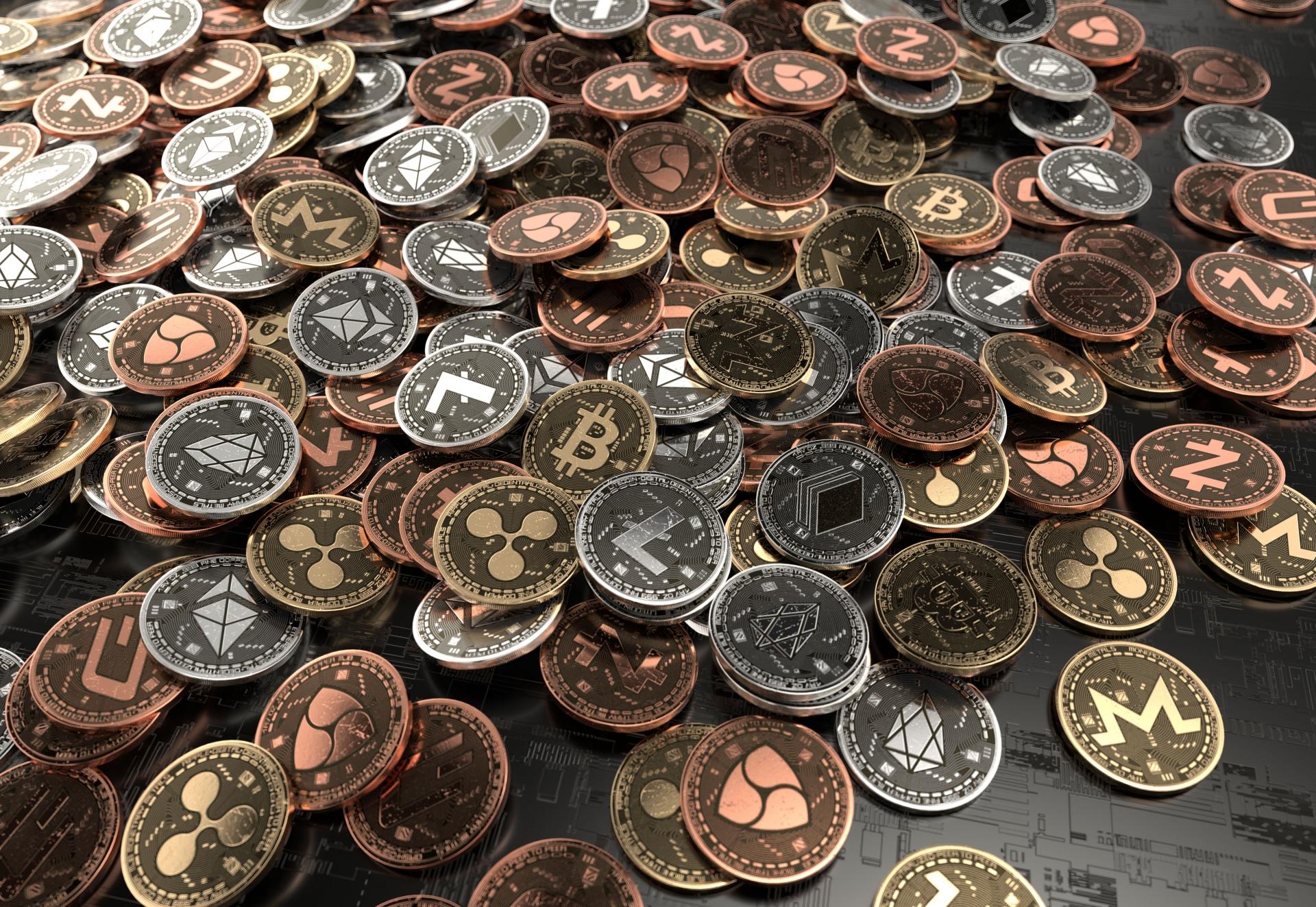 いろいろな仮想通貨