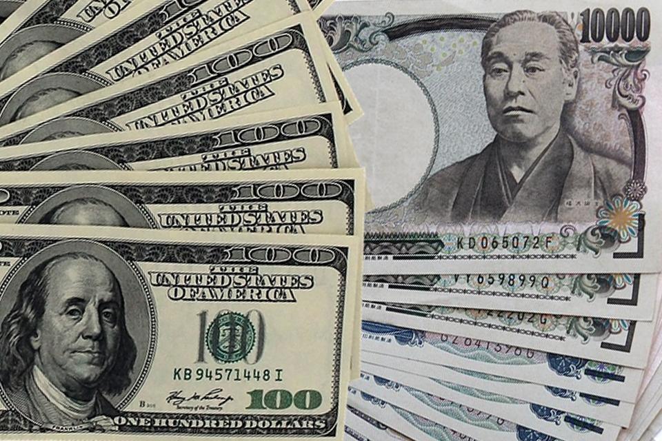 米ドルと日本円